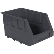 Handy Storage Size 30 Grey Plastic Storage Tote