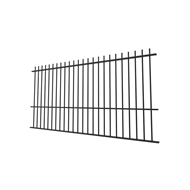 Protector Aluminium 2450 x 1800mm Custom Picket Top Pool Fence Panel