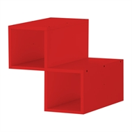 Clever Cube 330 x 330 x 370mm Red Divider Insert