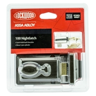 Lockwood Brown 100 Nightlatch