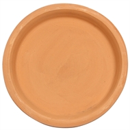Tuscan Path Terracotta Round Saucer  - 250mm