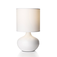 Rouge Living 32cm White Serena Table Lamp