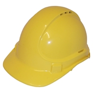 UniSafe UniLite Yellow Vented Safety Hard Hat