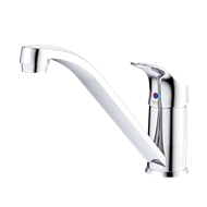 Dorf WELS 4 Star 7.5L/min Chrome Flickmixer Sink Mixer
