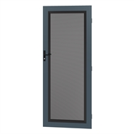 Protector Aluminium 808-848 x 2030-2070mm Adjustable Perforated Barrier Door - Deep Ocean