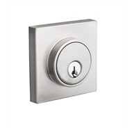 Lane Polished Chrome Slimline Square Double Cylinder Deadbolt