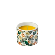Waxworks Funky Florals Citronella Tropical Strength Candle