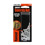 Ramset 3.2 x 25mm Concrete Nail - 25 Pack