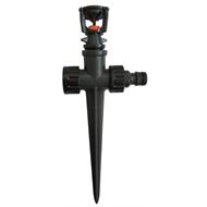 Holman Shaker Spray Plastic Sprinkler Spike