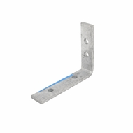 Zenith 100 x 75 x 20 x 5mm Galvanised Angle Bracket