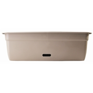 HomeLeisure 750mm Taupe WaterSaver Contemporary Rectangular Planter
