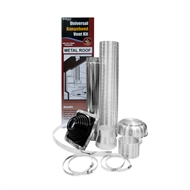 Deflecto 125-150mm Rangehood Metal Roof Venting Kit
