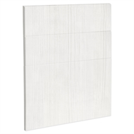 Kaboodle 600mm White Forest Modern 3 Drawer Panels
