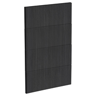 Kaboodle 450mm Black Forest Modern 4 Drawer Panels
