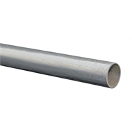 Metal Mate 25.4 x 1.2 3m Galvanised Steel Round Tube
