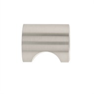 Prestige 25mm Brushed Nickel Finger Post Knob