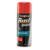 White Knight 310g Flame Red Rust Guard Epoxy Enamel Spray Paint