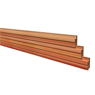115 x 38mm Cladding Channel Centre Groove - Per Linear Metre