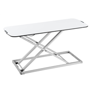 Ergovida Slim White Laptop Work Station