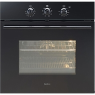 Bellini 60cm 60L Black 8 Function Built In Oven