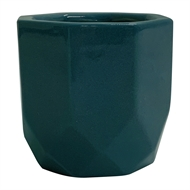Northcote Pottery 25 x 22cm Teal Gem Pot