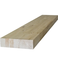 266 x 80mm 2.4m GL13 Glue Laminated Treated Pine Beam