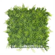 UN-REAL 50 x 50cm Artificial Hedge Tile - Golden Pine