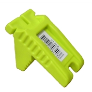 Spear & Jackson Solid Rubber Lime Green Line Block
