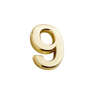 Sandleford 35mm 9 Gold Self Adhesive Harbour Numeral