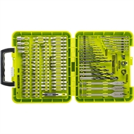 Ryobi 100 Piece Drilling And Driving Set