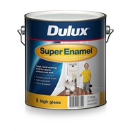 Dulux 2L Vivid White Super Enamel High Gloss Paint