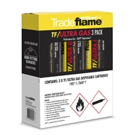 Tradeflame TF/ULTRA GAS-Performance Gas MAPP® Replacement - 3 Pack