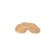 Waxworks Citronella And Sandalwood Mosquito Repellent Coil - 10 Pack