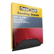 Flexovit 230 x 280mm 800 Grit Wet And Dry Sanding Sheet