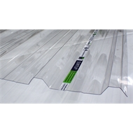 Suntuf Trimdeck 4.8m Clear Polycarbonate Roofing Sheet