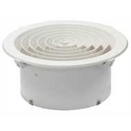 CSR Edmonds Ventilation 200mm Round Ceiling Grill Vent