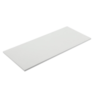 Flexi Storage 900 x 400 x 16mm White Melamine Shelf