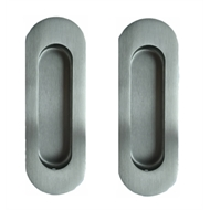Delf 150mm Oval Flush Pull - 2 Pack