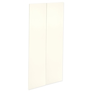Kaboodle 900mm Antique White Modern Pantry Door - 2 Pack