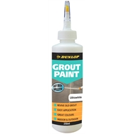 Dunlop 250ml Grout Paint  - Ultrawhite