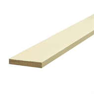 Hume 66 x 11mm x 2.7m H3 Primed Finger Jointed Pine