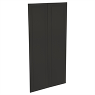 Kaboodle 900mm Charcola Heritage Pantry Door - 2 Pack