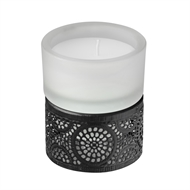 Waxworks LED Citronella Glass Votive Candle