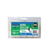 Monarch Razorback 100mm Fabric Mini Roller Refill - 10 Pack
