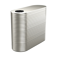 Kingspan 3000L Slim Steel Water Tank - 850mm x 1860mm x 2300mm Surfmist