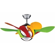 Crestwind Harlequin Ceiling Fan
