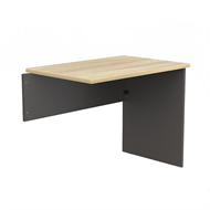 CeVello 900 x 600mm Oak Charcoal Desk Return