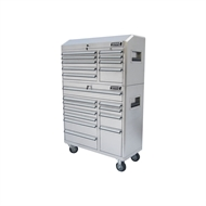 Kincrome 20 Drawer Stainless Steel Chest And Trolley Combo