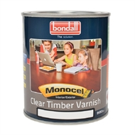Bondall 500ml Satin Monocel Clear Timber Varnish