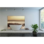 Bellessi 1220 x 3050 x 4mm Motiv Polymer Bathroom Panel - Beach Dream